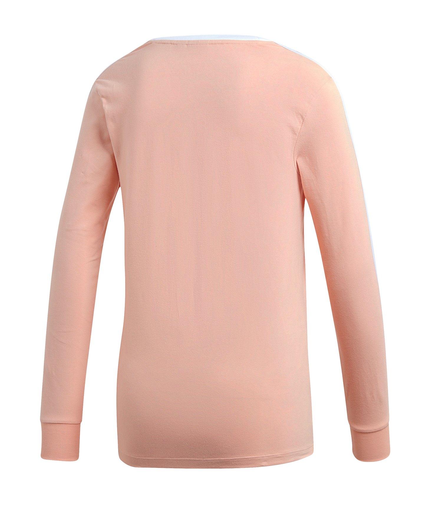 release date: 40d39 e36a4 adidas Originals 3 Stripes Sweatshirt Damen Orange
