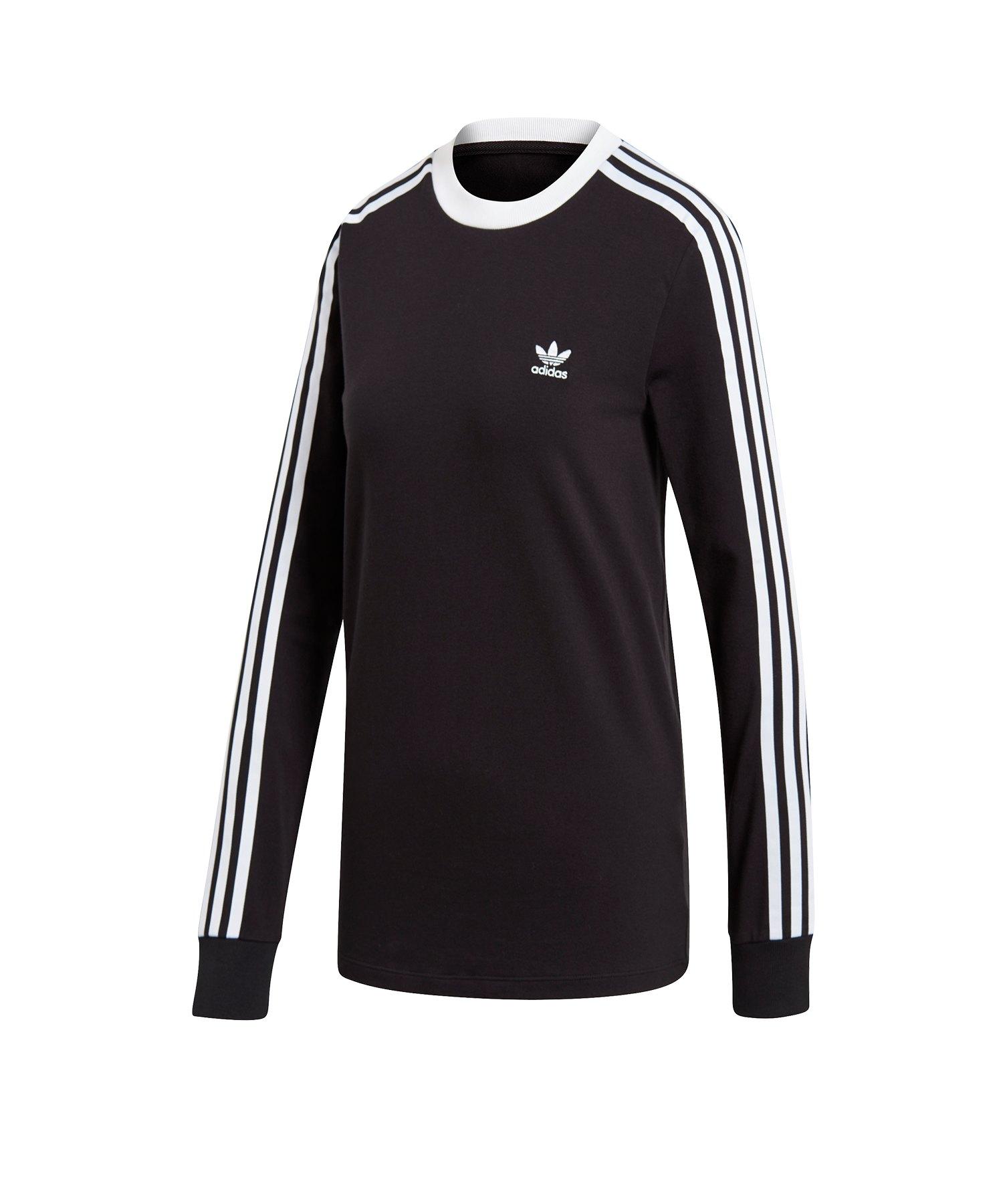 adidas Originals 3 Stripes Sweatshirt Schwarz  Lifestyle