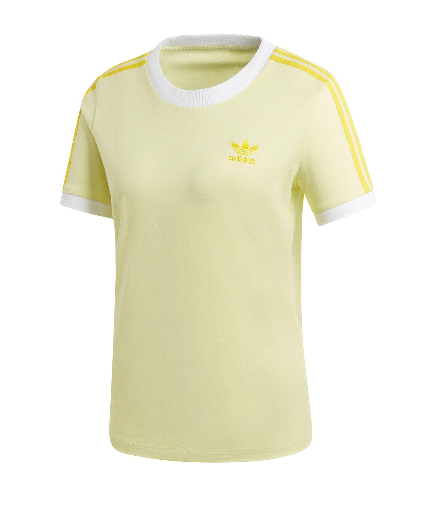 adidas Kinder Oberteile Hohe Qualität adidas Brazil Tee Gelb