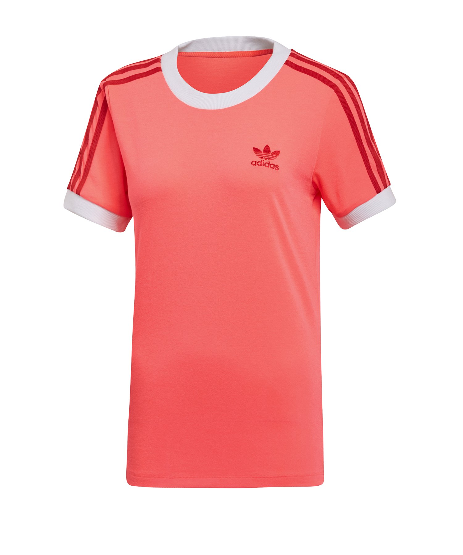 adidas Originals 3 Stripes T Shirt Damen Grün | Lifestyle