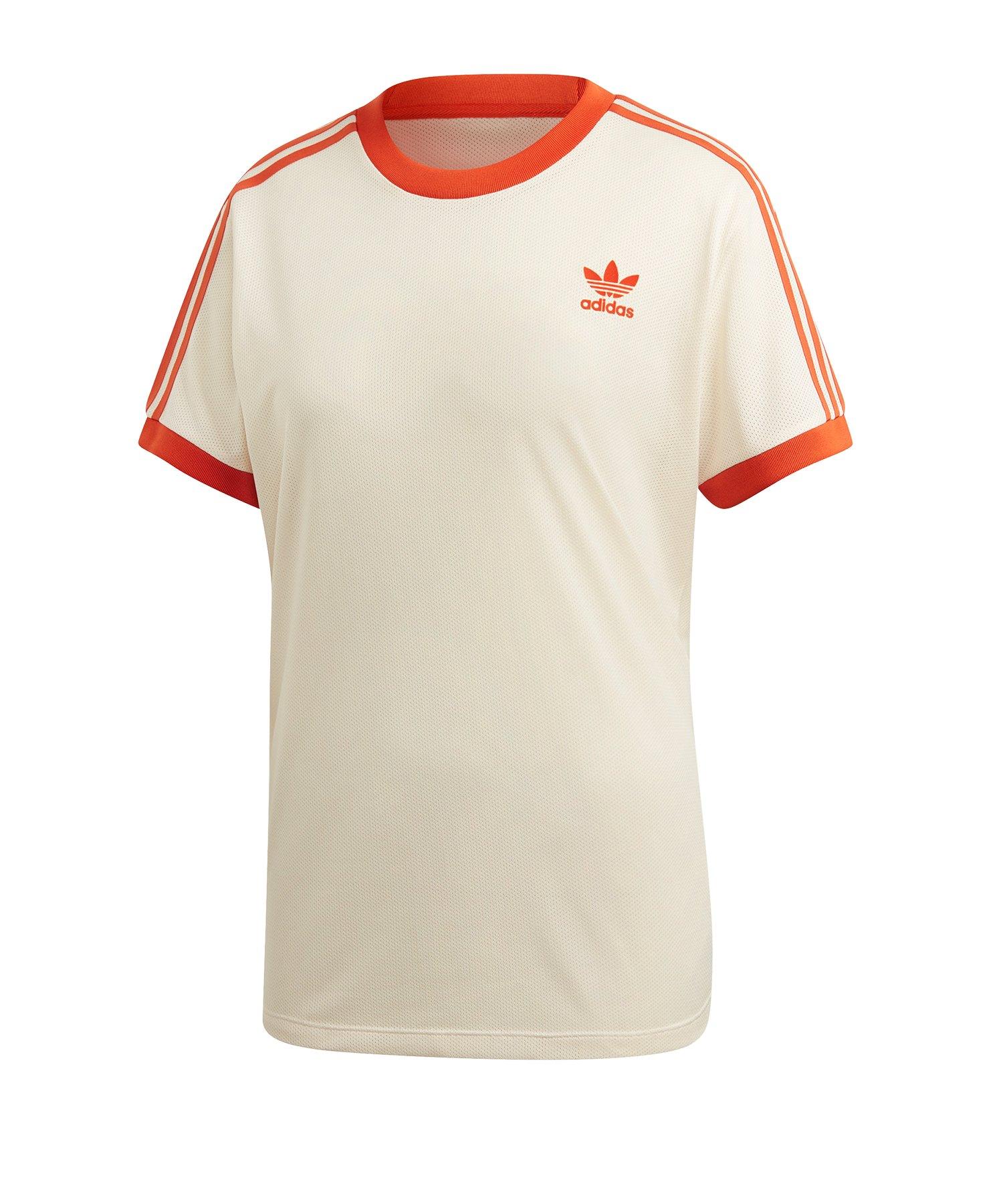 b72cb3109c244 adidas Originals 3-Stripes Tee T-Shirt Damen Weiss |Lifestyle ...