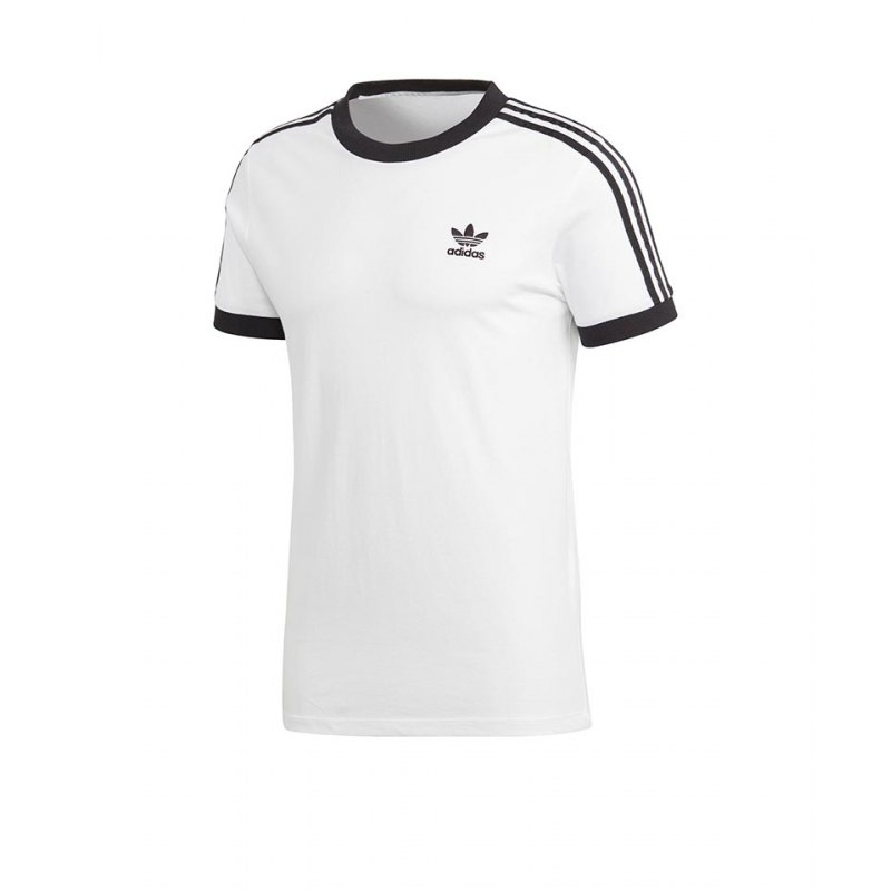 adidas Originals 3 Stripes Tee T Shirt Rot