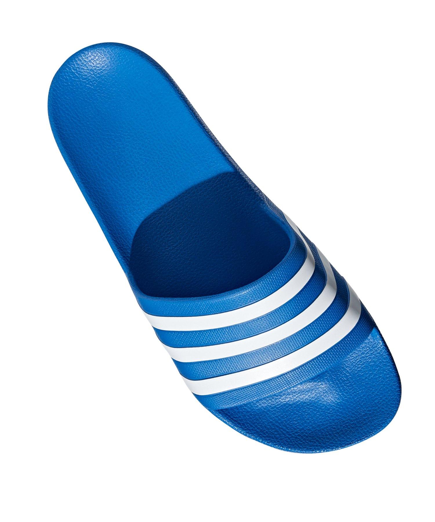 Adidas Adidas Badelatsche Hellblau Badelatsche Hellblau Aqua Adilette Adidas Adilette Aqua BodeCx