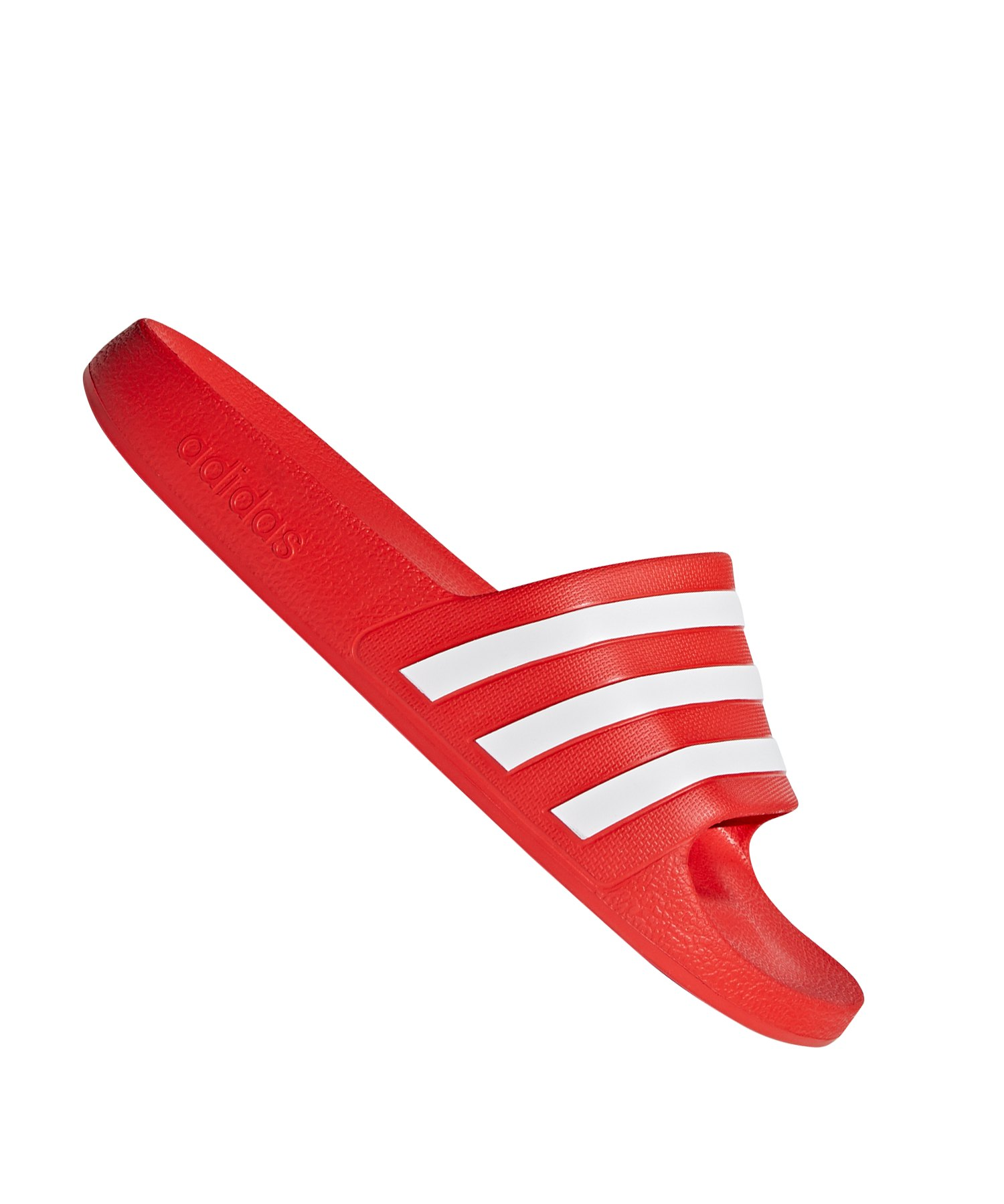 89cef7003cc adidas Adilette Aqua Badelatsche Rot |Lifestyle | Freizeit | Strasse ...