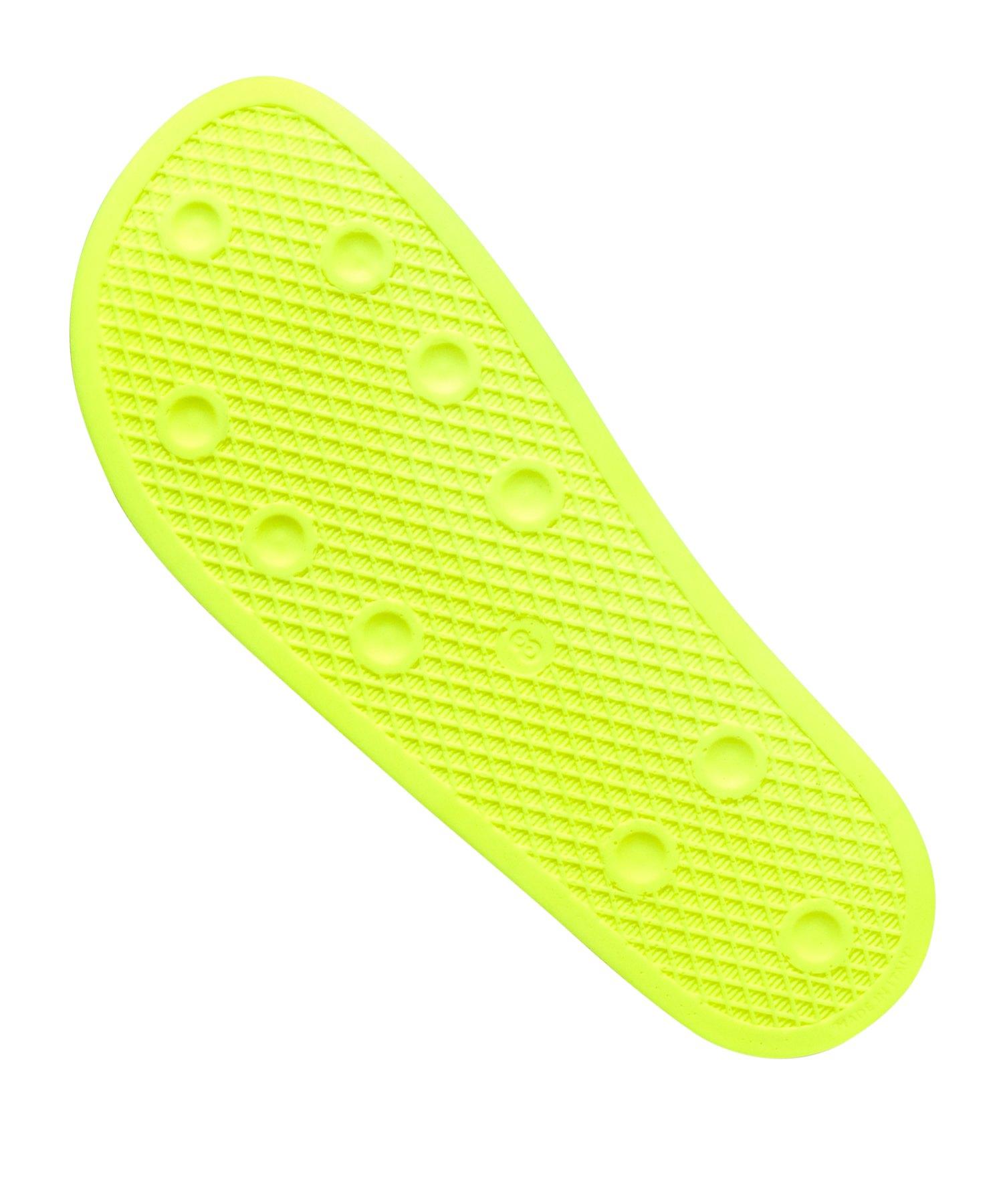 adidas Originals Adilette Badelatsche Gelb