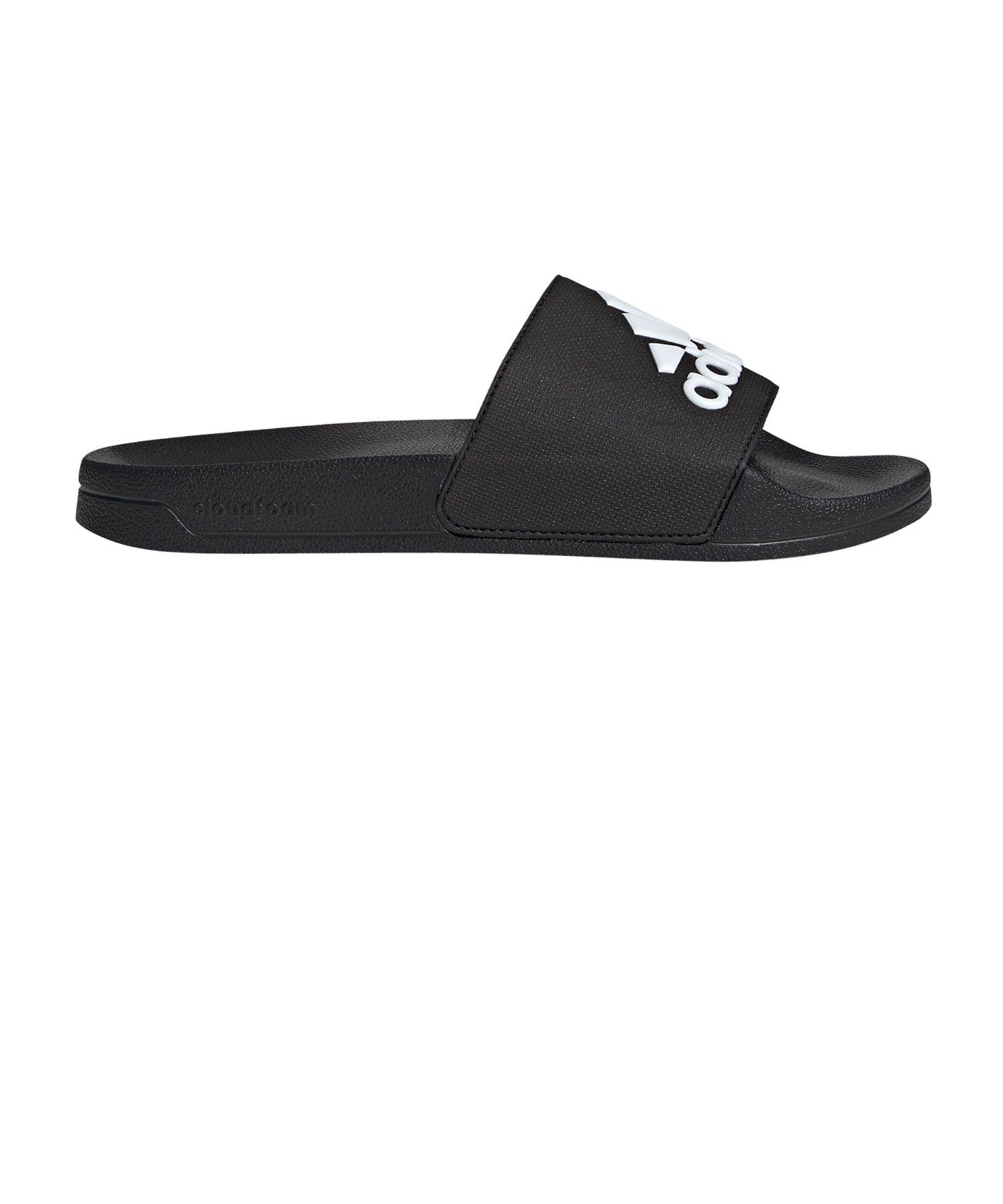 Adidas Originals Adilette Badelatschen schwarz