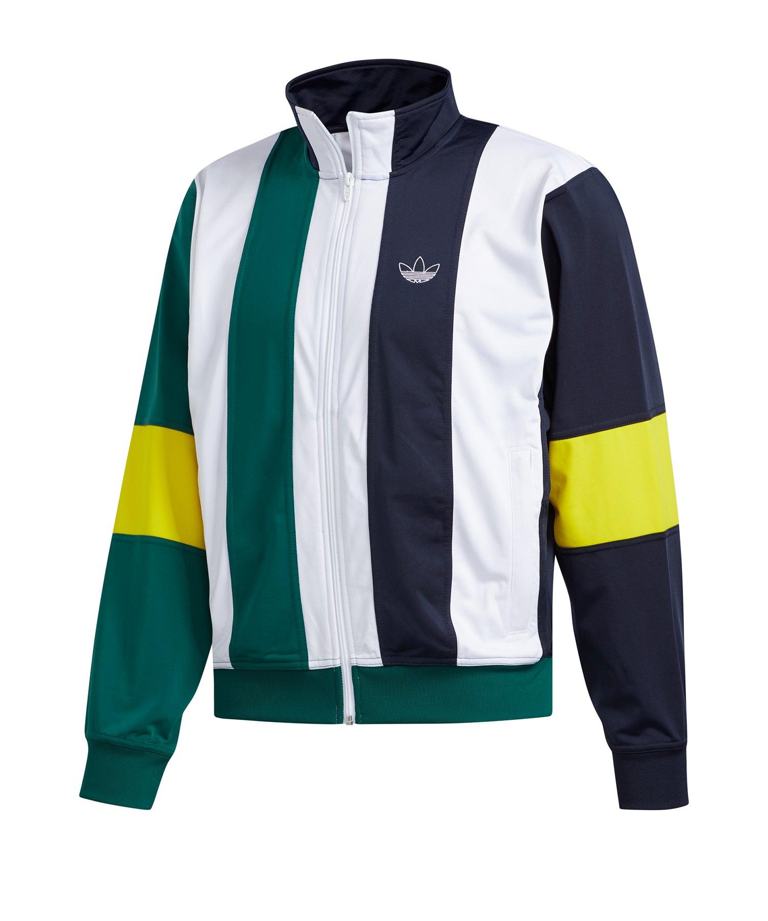 adidas ADC Fashion TT Jacke grün weiß