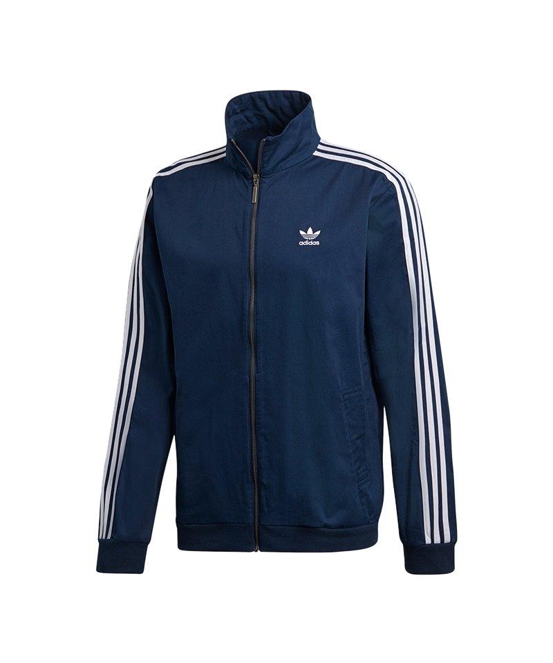 adidas Originals Beckenbauer Tracktop Blau Weiss