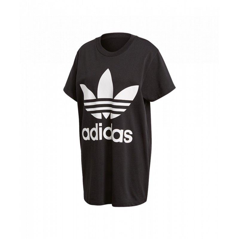 Adidas Big Trefoil T Shirt für Damen | schwarz, weiss