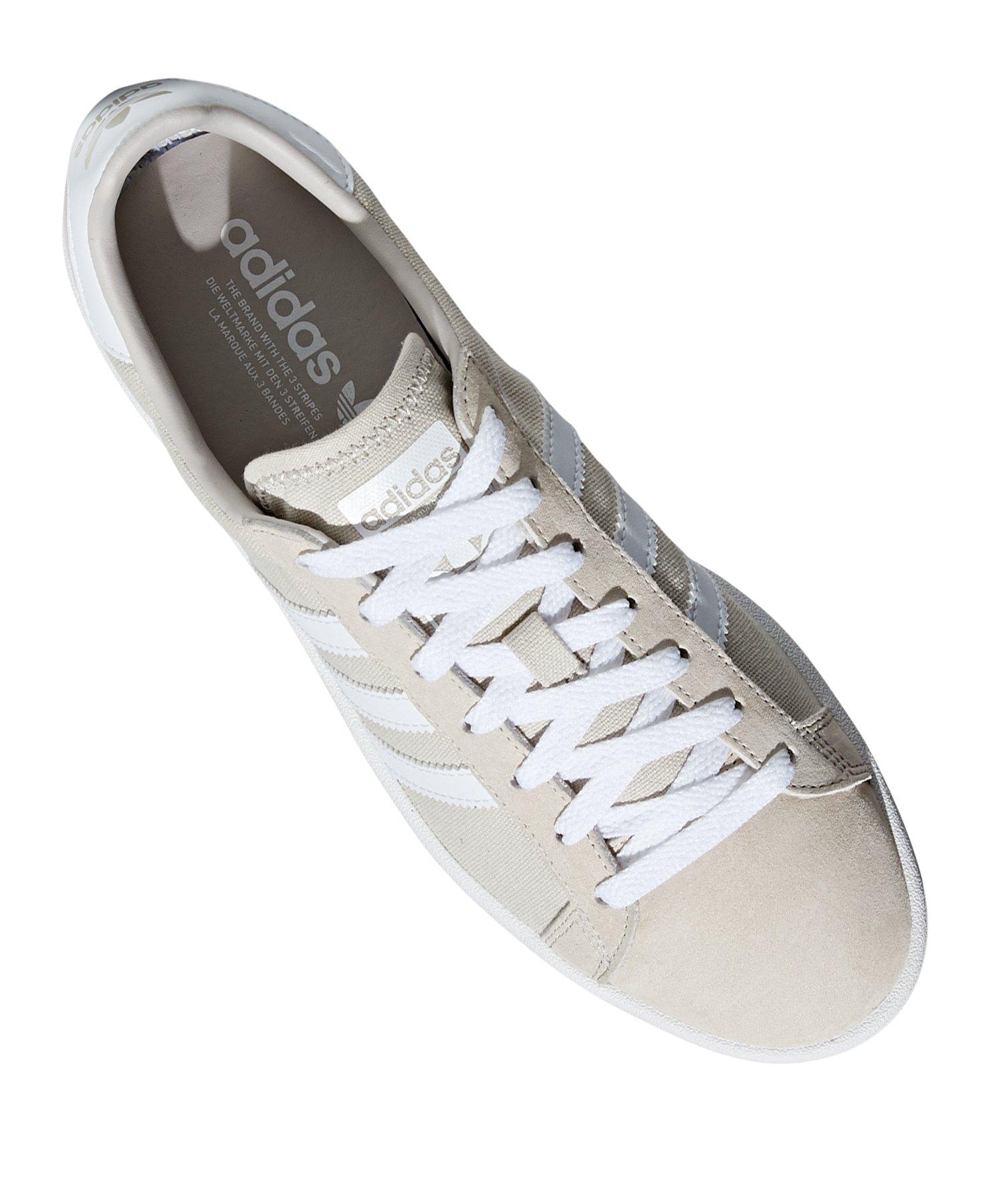 Weiss Originals Sneaker Campus Braun Adidas PikZuX