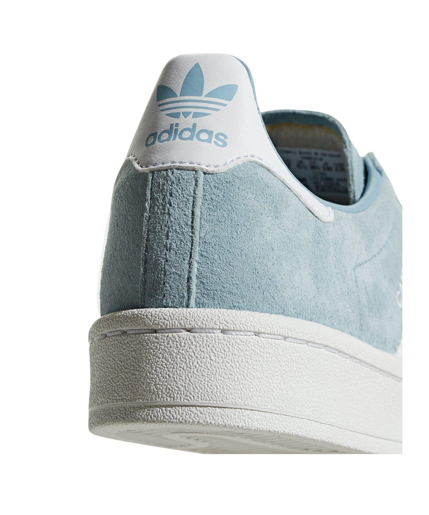 Adidas Originals Damen Weiss lifestyle Blau Sneaker Campus ZZqUwPr