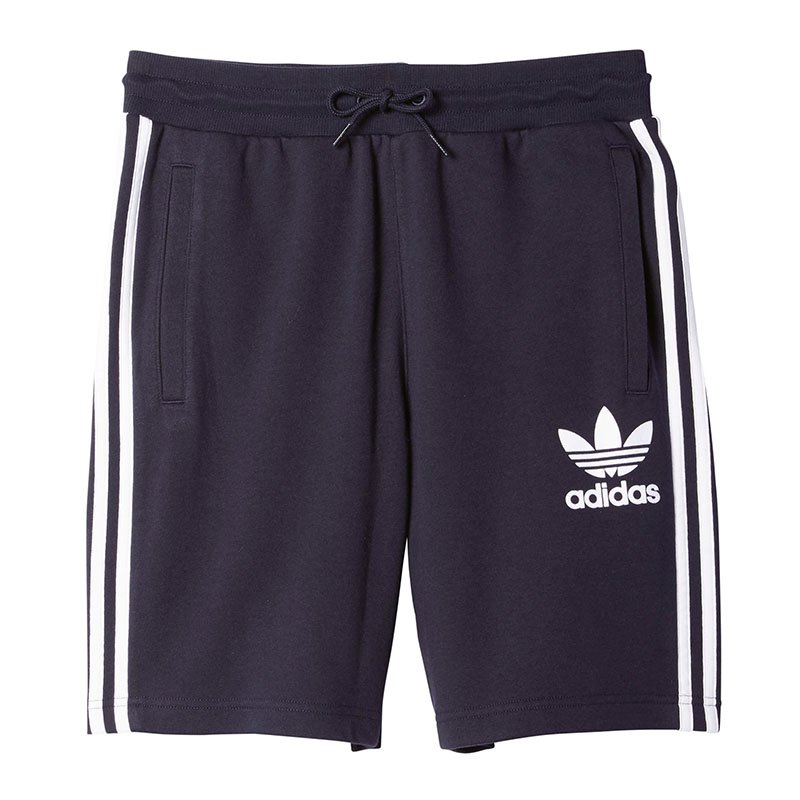 adidas originals clfn short hose kurz blau weiss. Black Bedroom Furniture Sets. Home Design Ideas