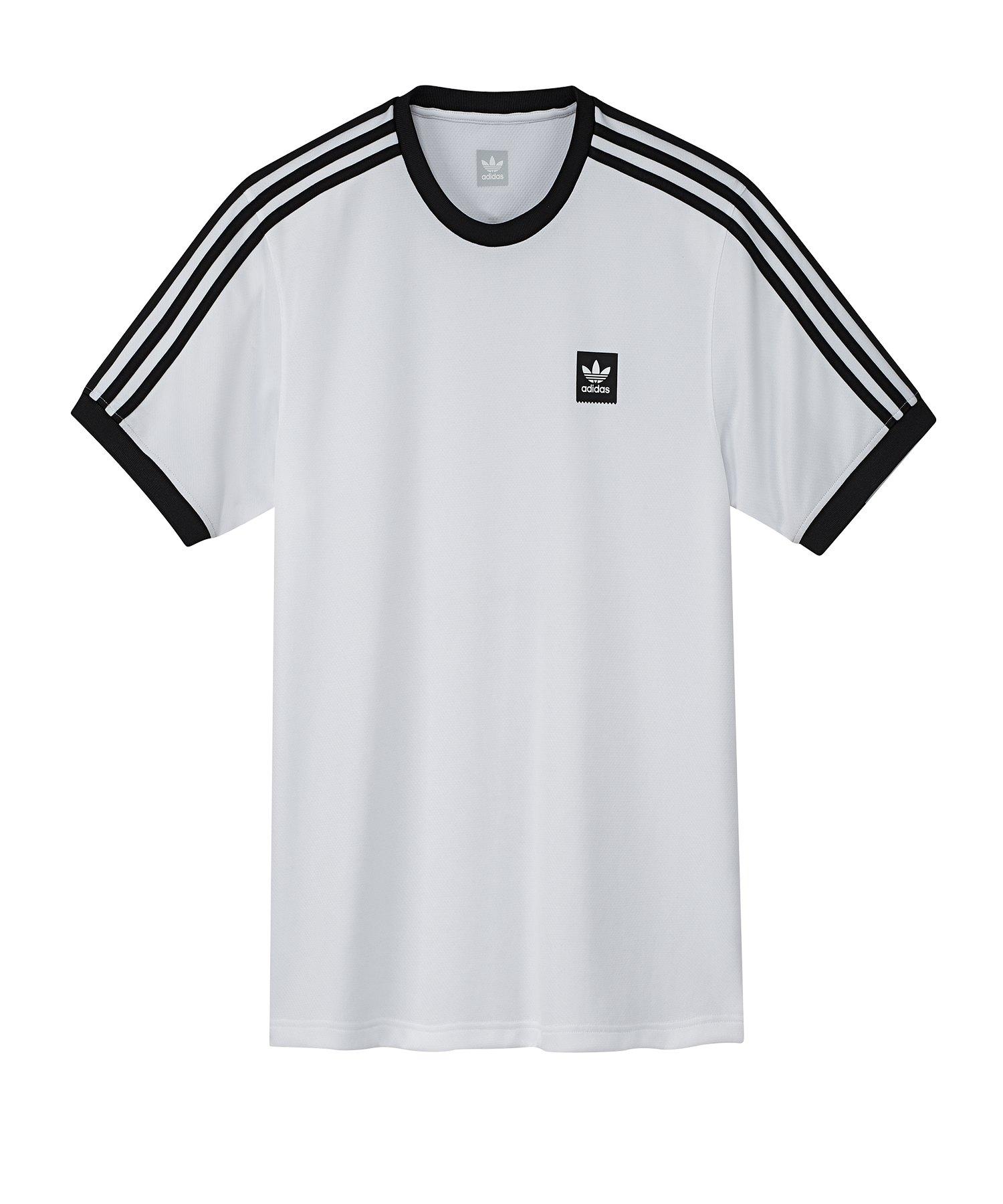 adidas Originals Club T Shirt Weiss Schwarz