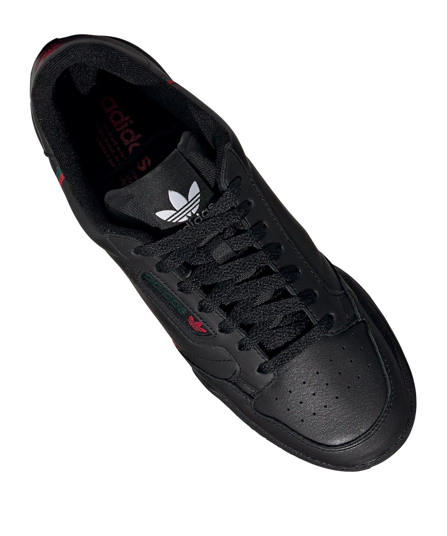 Sneaker Schwarz 80 Continental Adidas Originals uc1lFTK3J