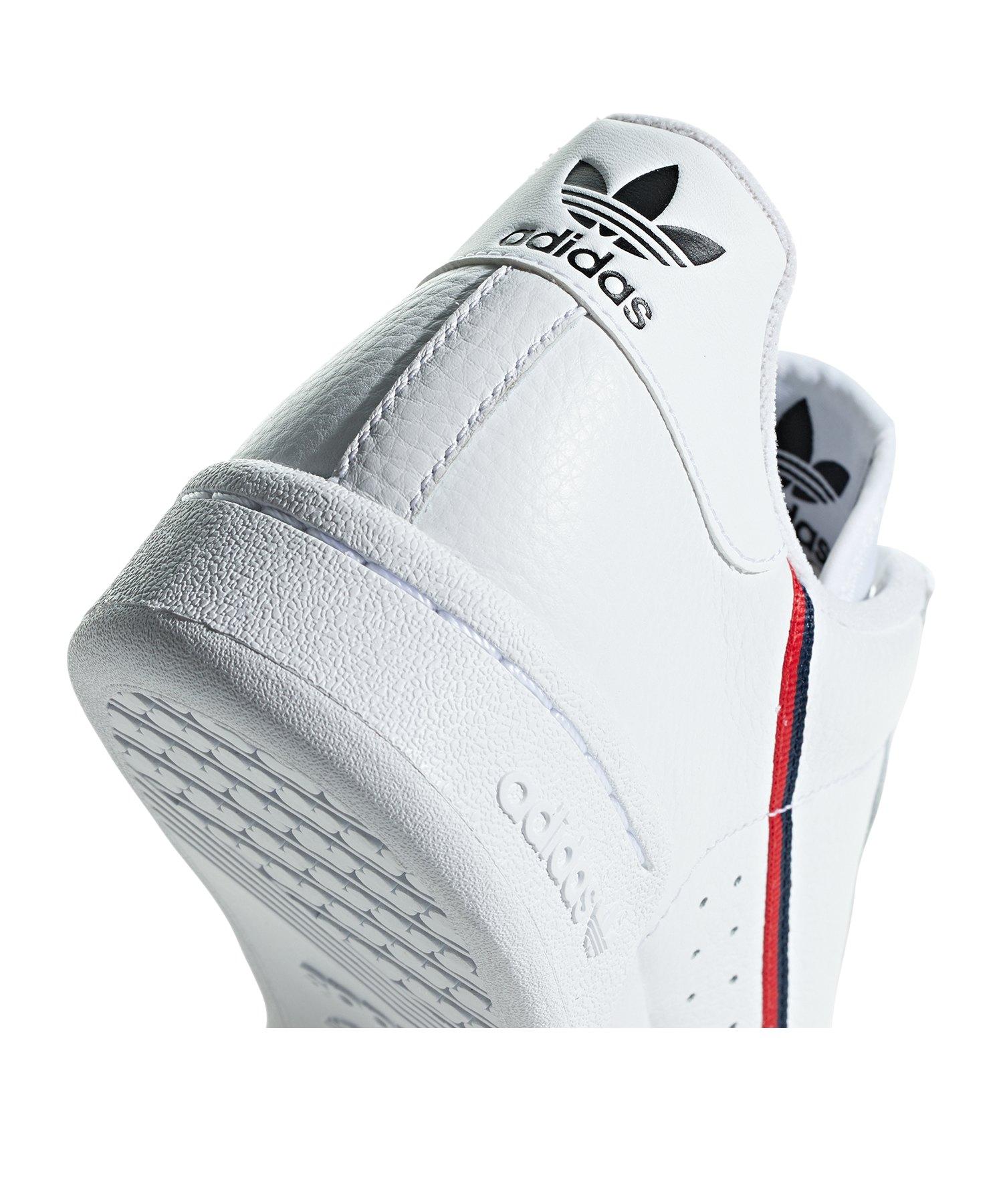 Weiss Sneaker Adidas Continental 80 Originals wTlOXPkZiu