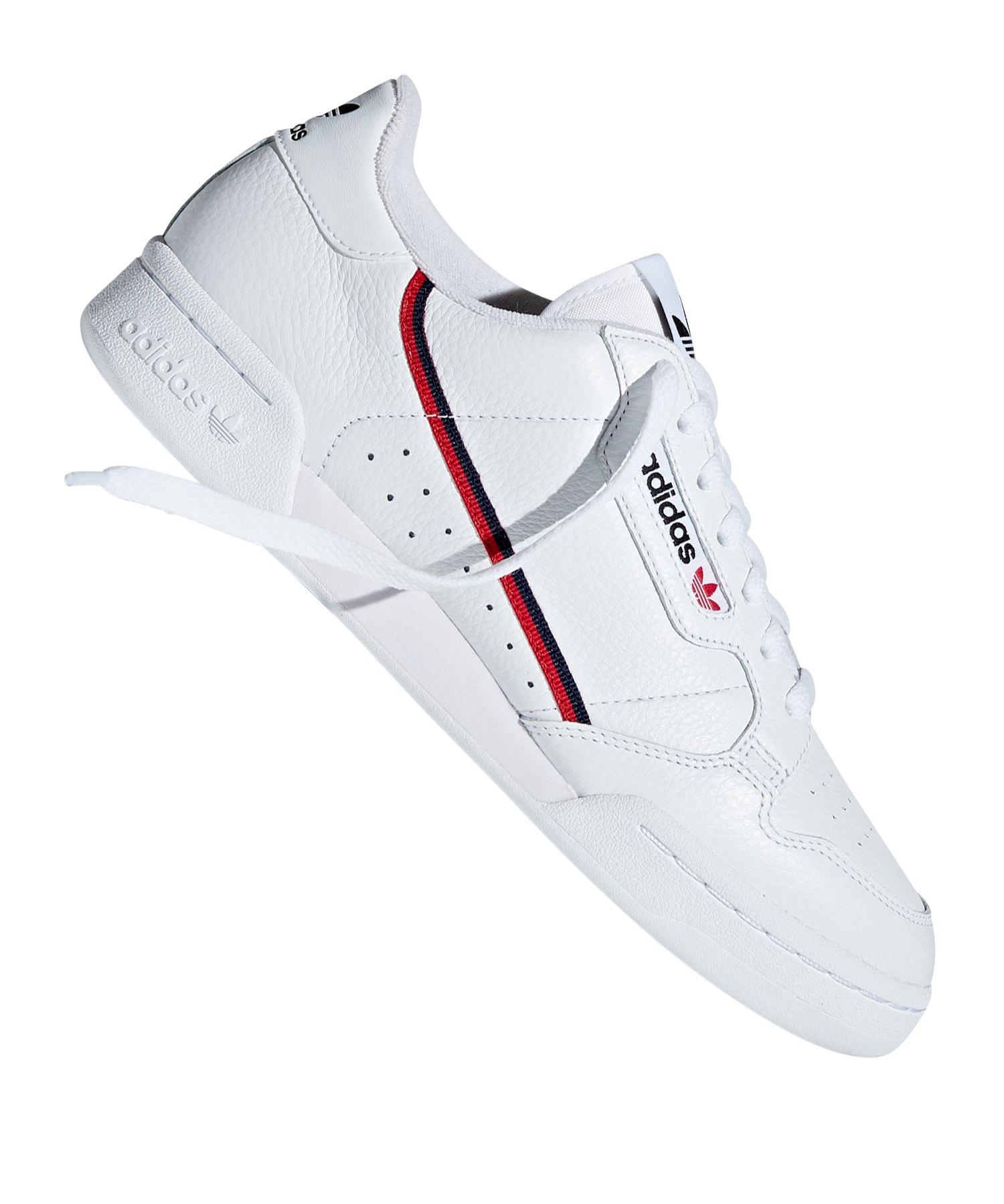 adidas Originals - Continental 80 - Sneaker in Schwarz und Weiß