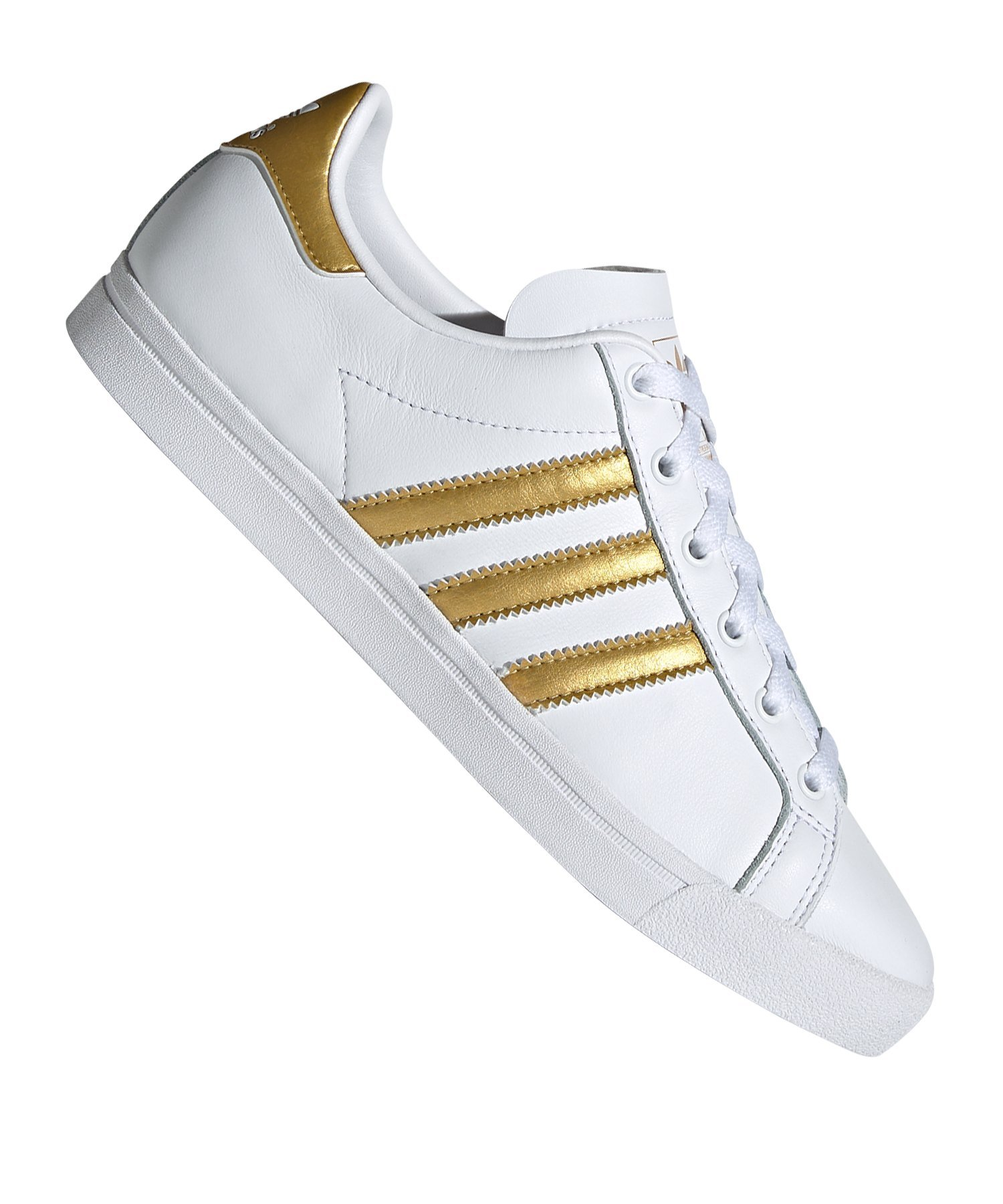 adidas Originals CS Sneaker Damen Weiss Gold