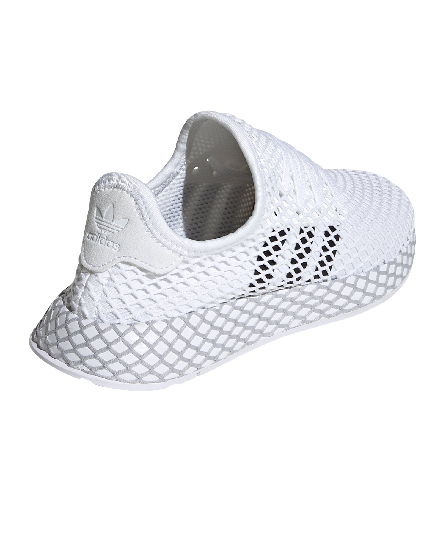 696f3d1fa1764 adidas Originals Deerupt Runner Sneaker Kids Weiss