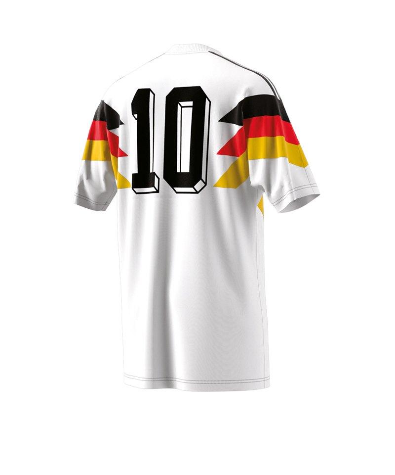 1990 Dfb Germany T Fußball Shirt Fanshop Weiss Adidas Originals xqSWYf6w