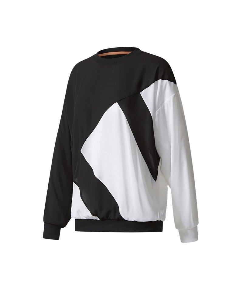 new product 9723d 2c8d0 adidas Originals EQT Sweatshirt Damen Schwarz