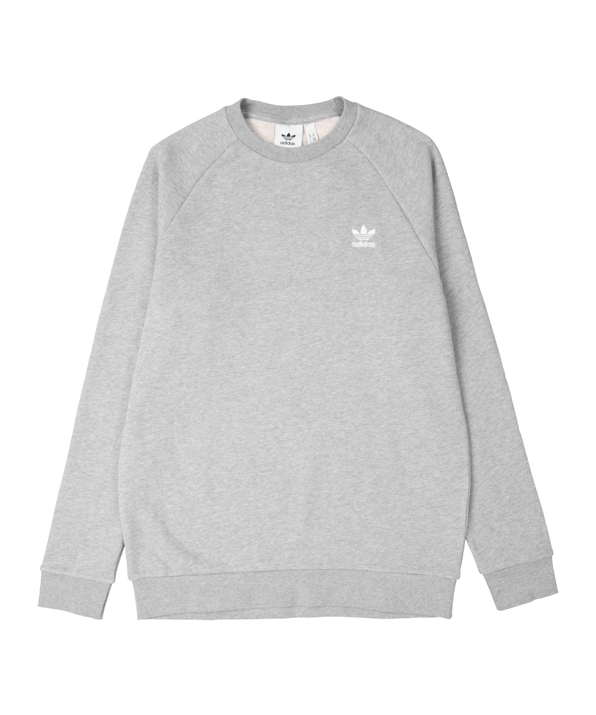 adidas Originals Essential Crew Sweatshirt Grau