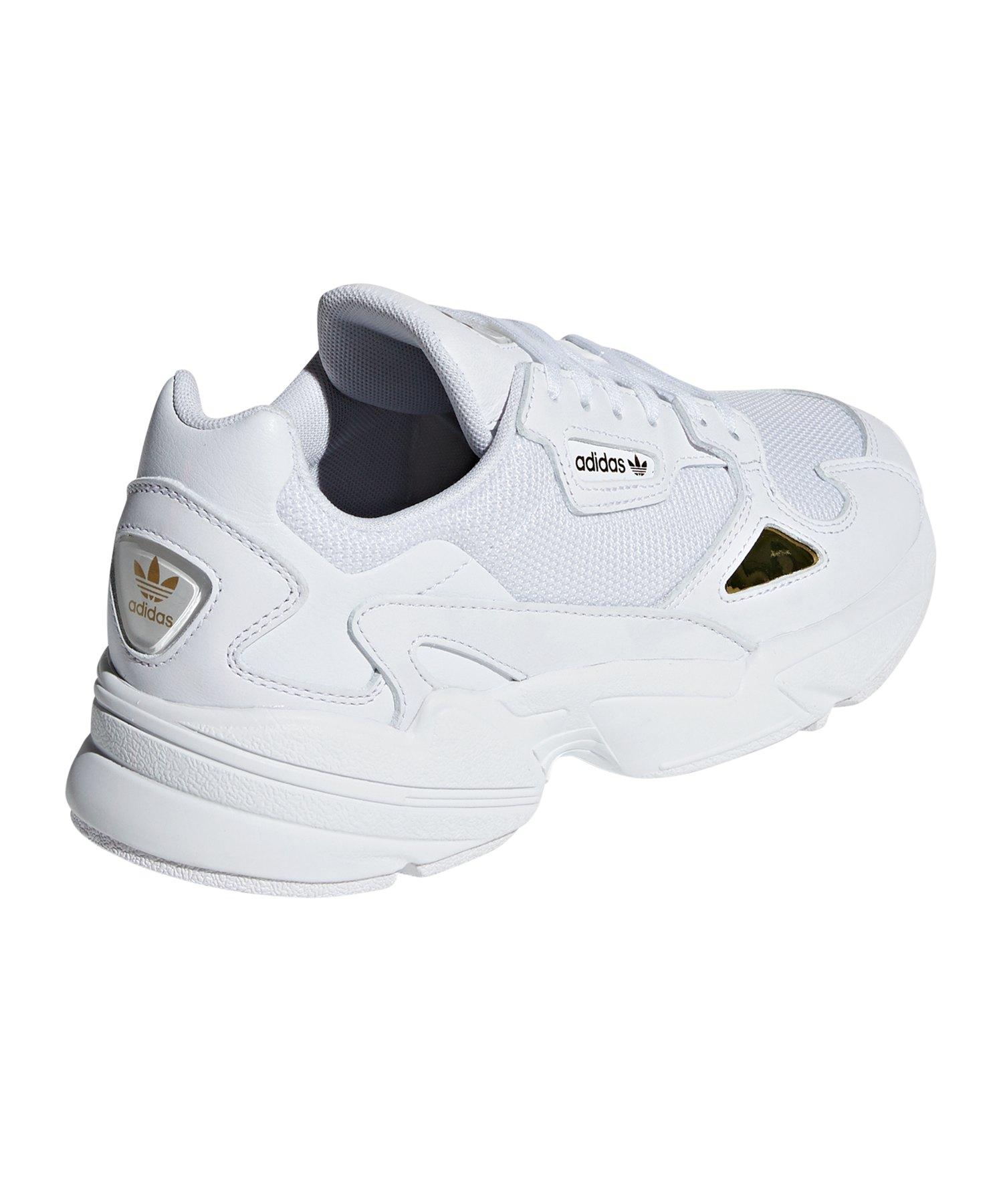 Falcon Damen Sneaker Weiss Adidas Originals wPXZlukTOi