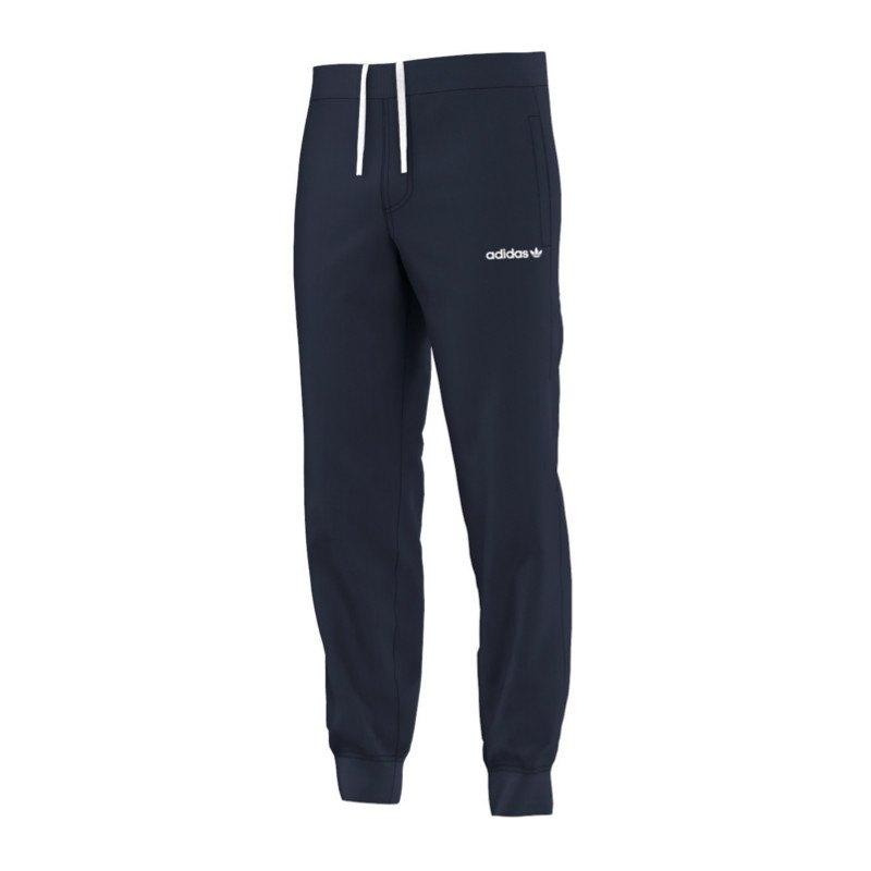adidas originals fitted sweatpants ft hose blau. Black Bedroom Furniture Sets. Home Design Ideas