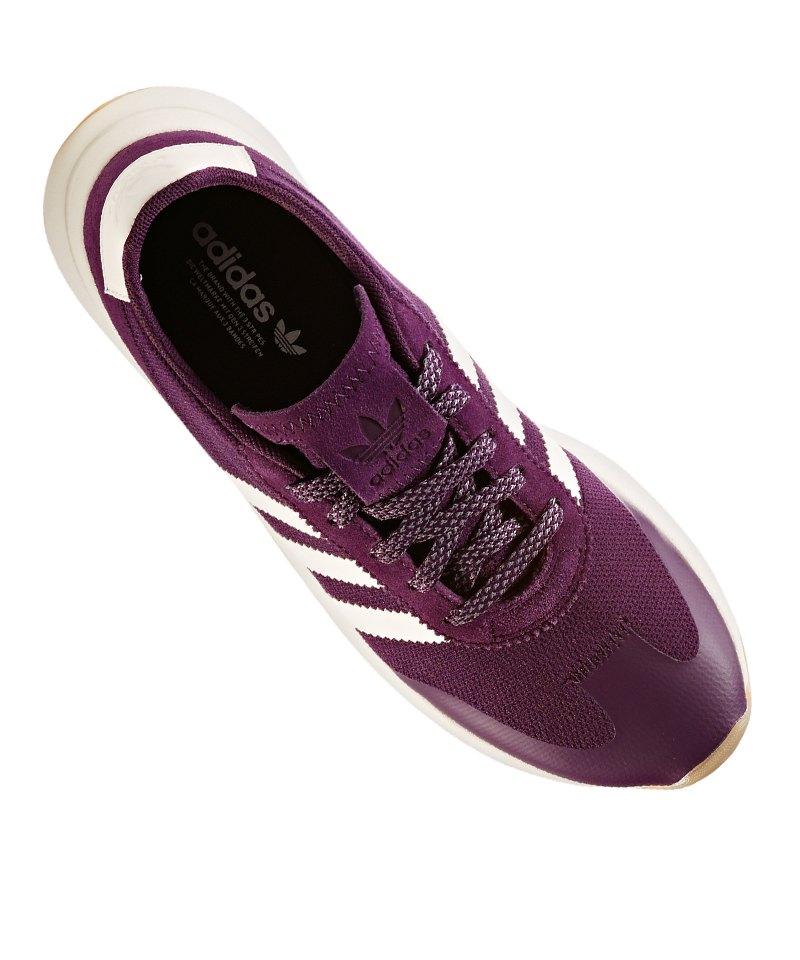 7e395a92e76c70 ... adidas Originals FLB Sneaker Damen Lila Weiss - lila ...