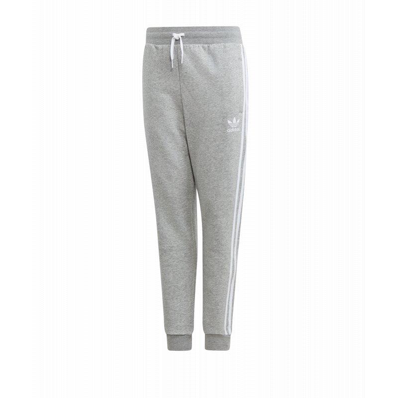 adidas Originals Fleece Jogginghose Kids Grau