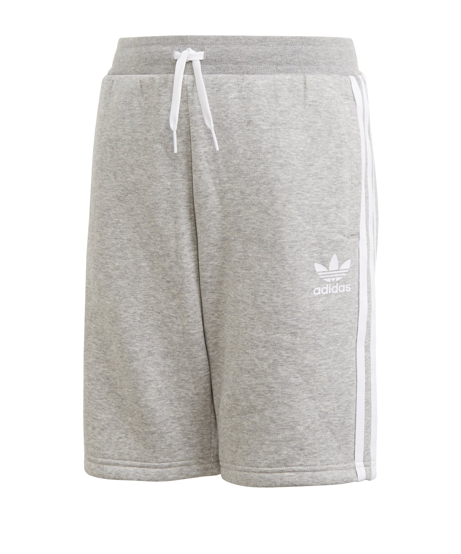 adidas Originals Fleece Shorts J Kids Grau