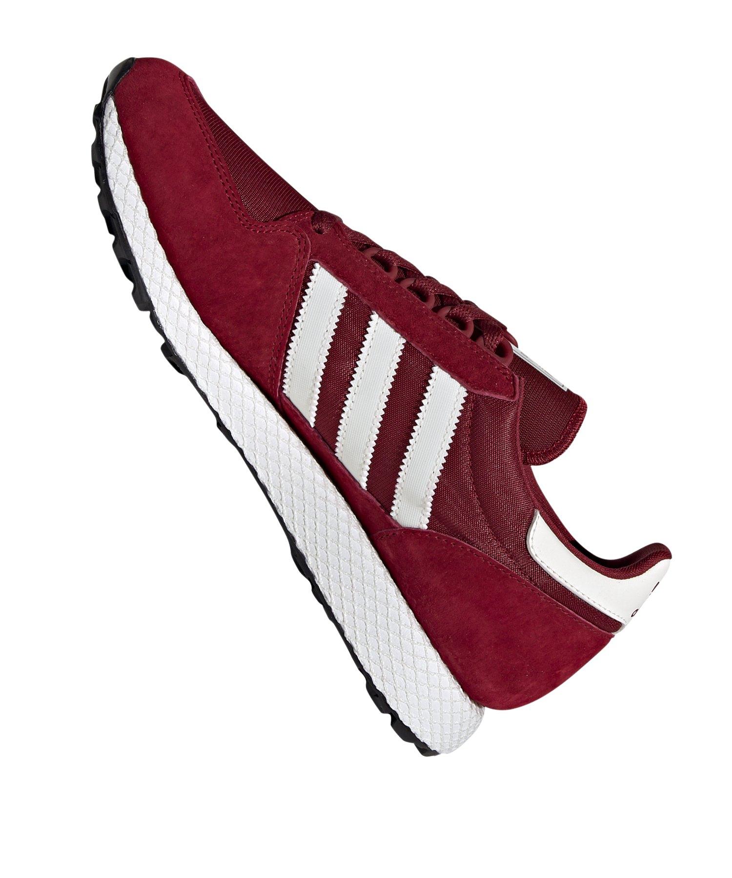 newest 77718 bba03 ... adidas Originals Forest Grove Sneaker Rot Weiss - rot ...