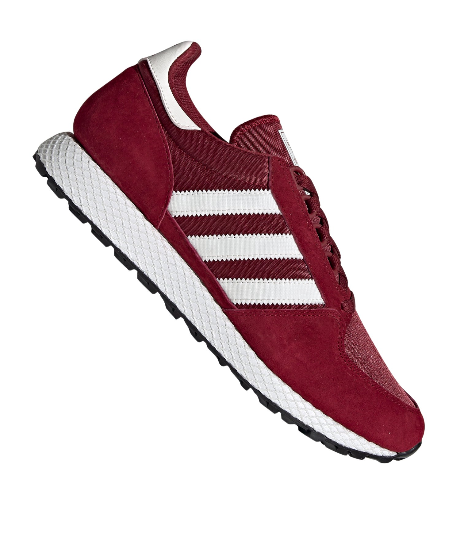 separation shoes 5248a d6351 adidas Originals Forest Grove Sneaker Rot Weiss - rot