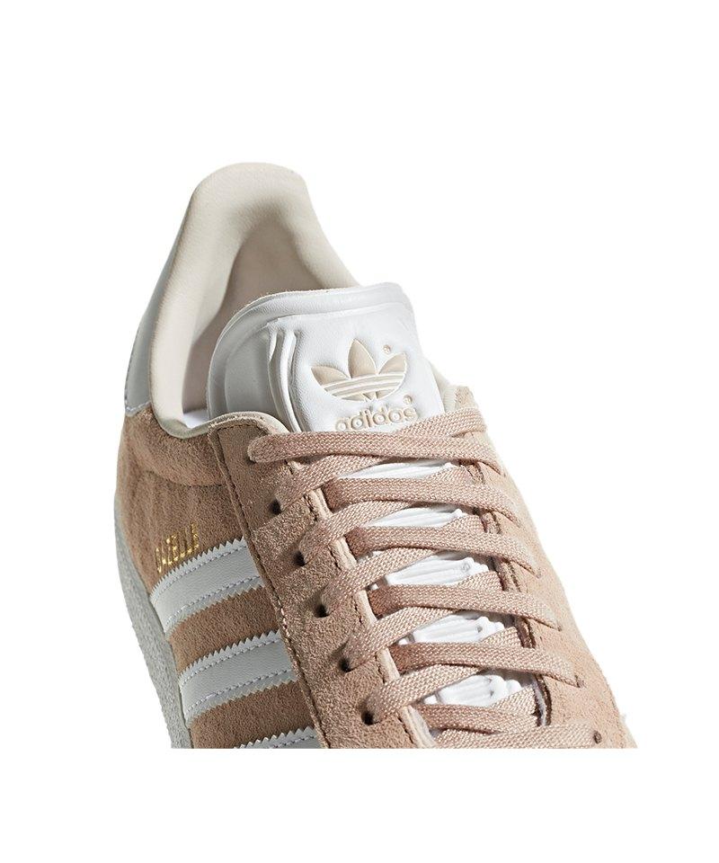 Damen Rosa Adidas Sneaker Originals Gazelle Weiss SUVzMp