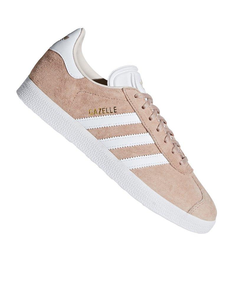 Adidas Damen Weiss Sneaker Originals Gazelle Rosa eIWYbE29DH