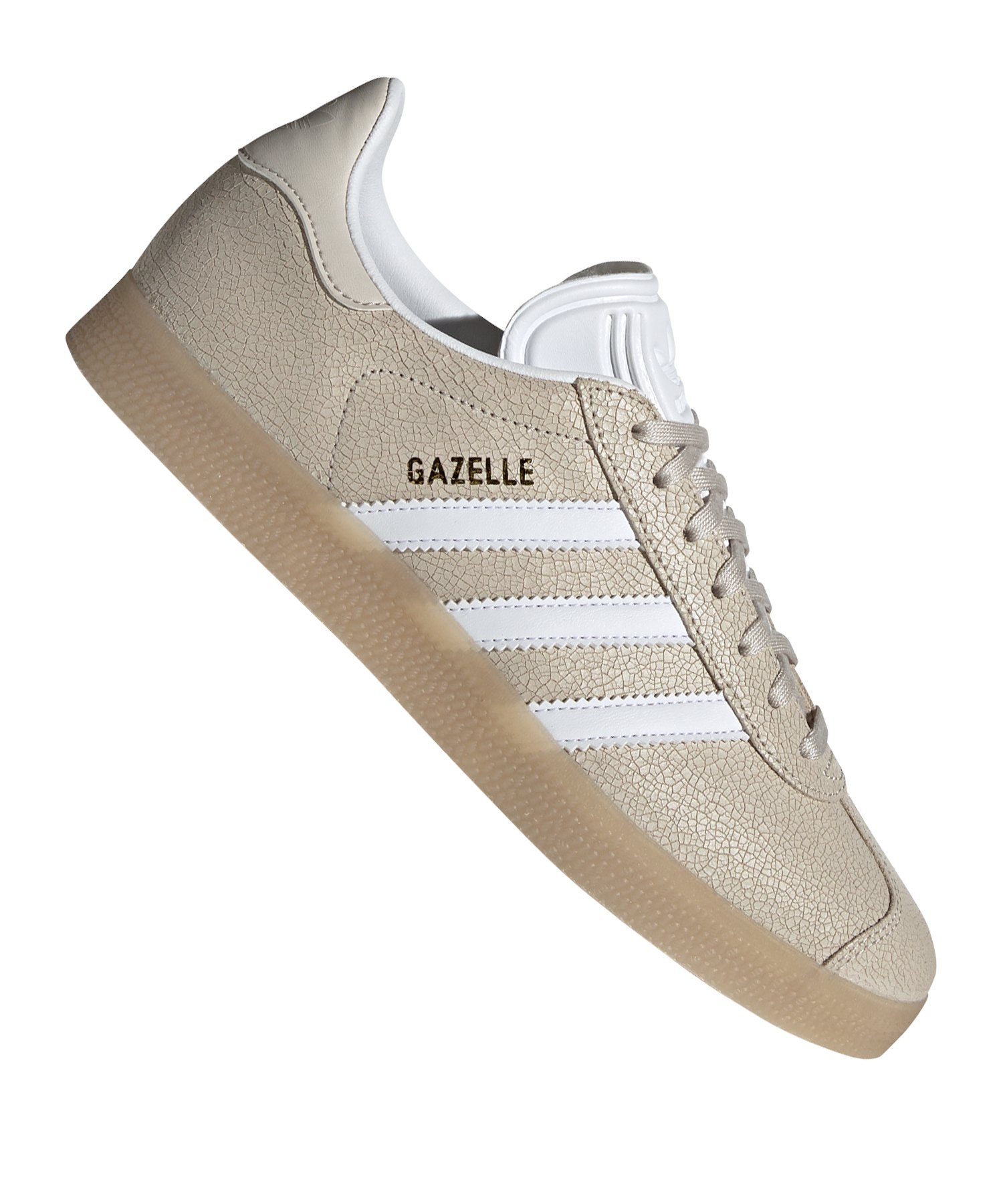adidas Originals Gazelle Sneaker Damen Beige Weiss