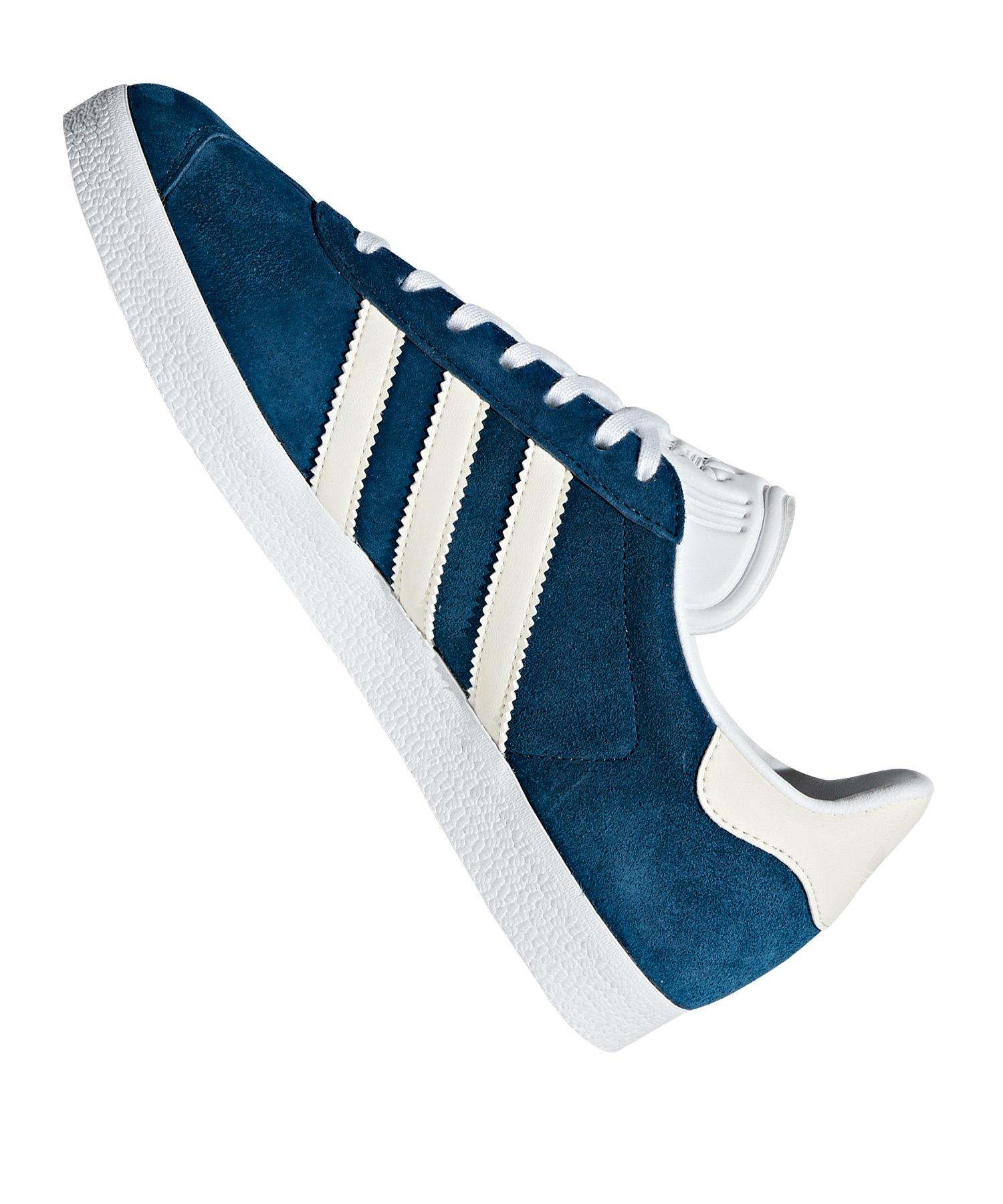 adidas Originals Gazelle Sneaker Damen Blau Weiss