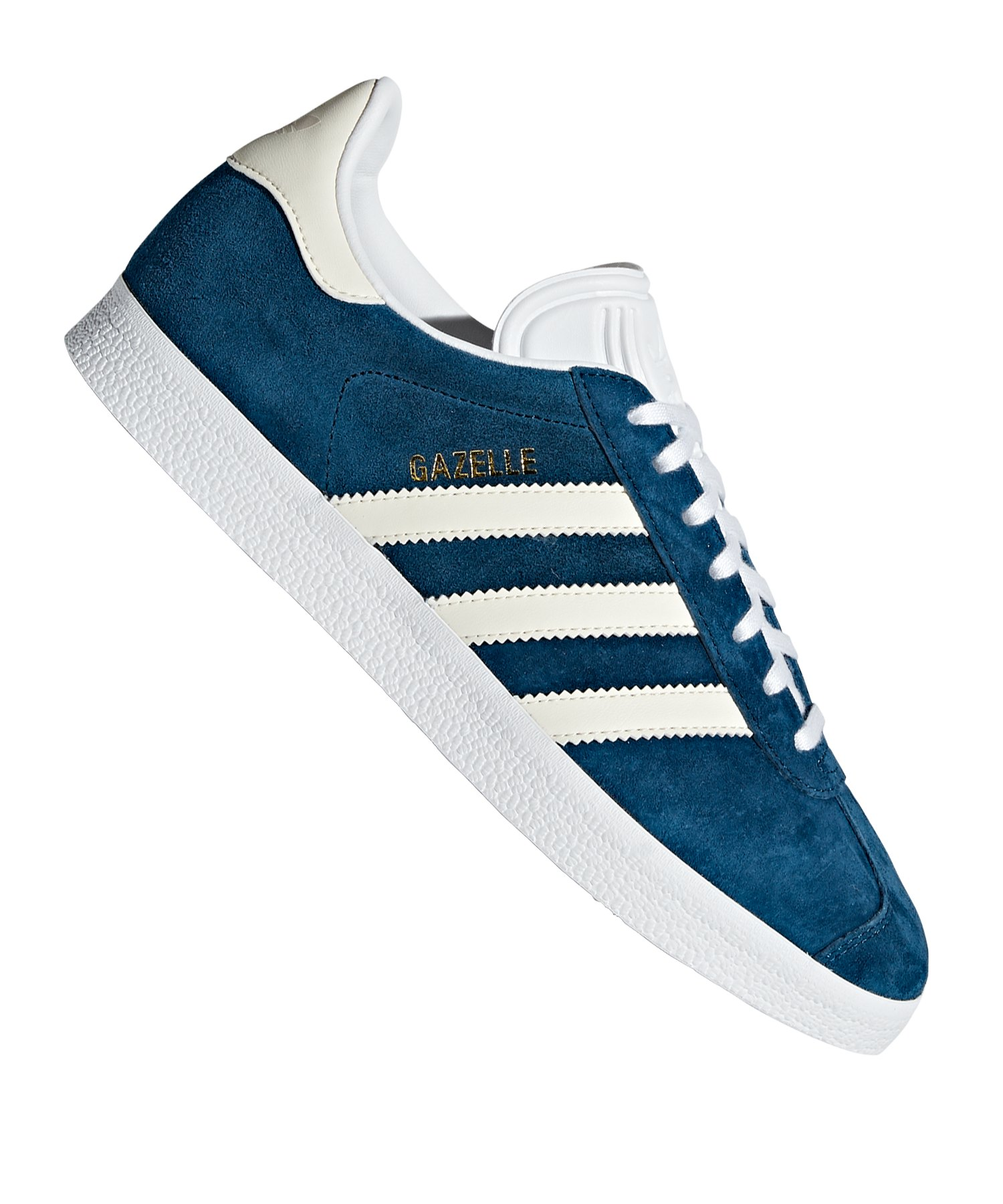 adidas Originals Gazelle Sneaker Damen Blau Weiss