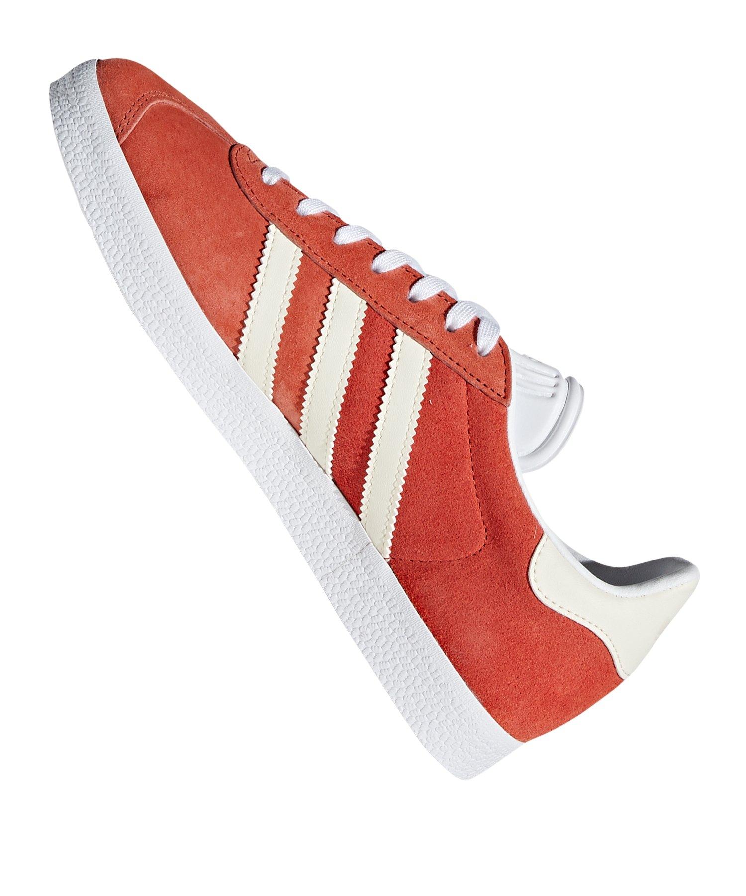 Gazelle Adidas Sneaker Braun Damen Weiss Originals 3RLAqcj54