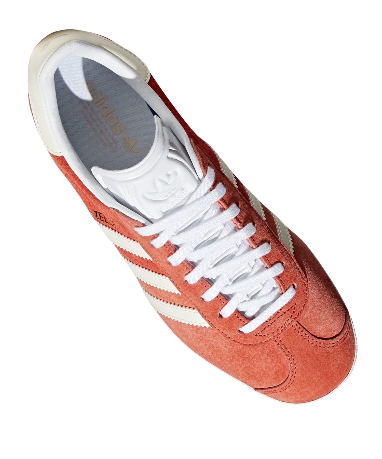 Weiss Braun Damen Originals Sneaker Adidas Gazelle qUzVGMpS