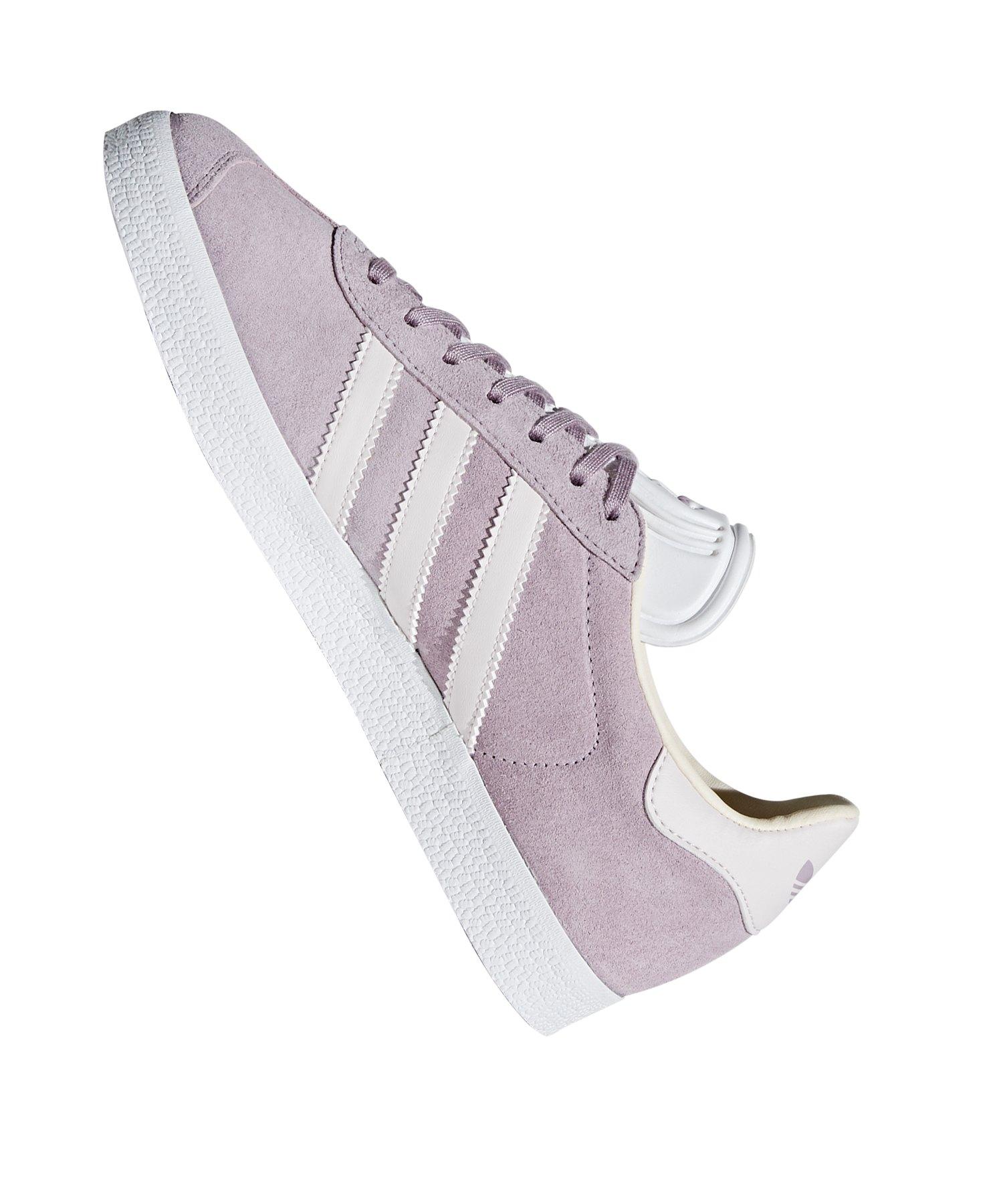 Weisslifestyle Gazelle Originals Adidas Damen Sneaker Grau