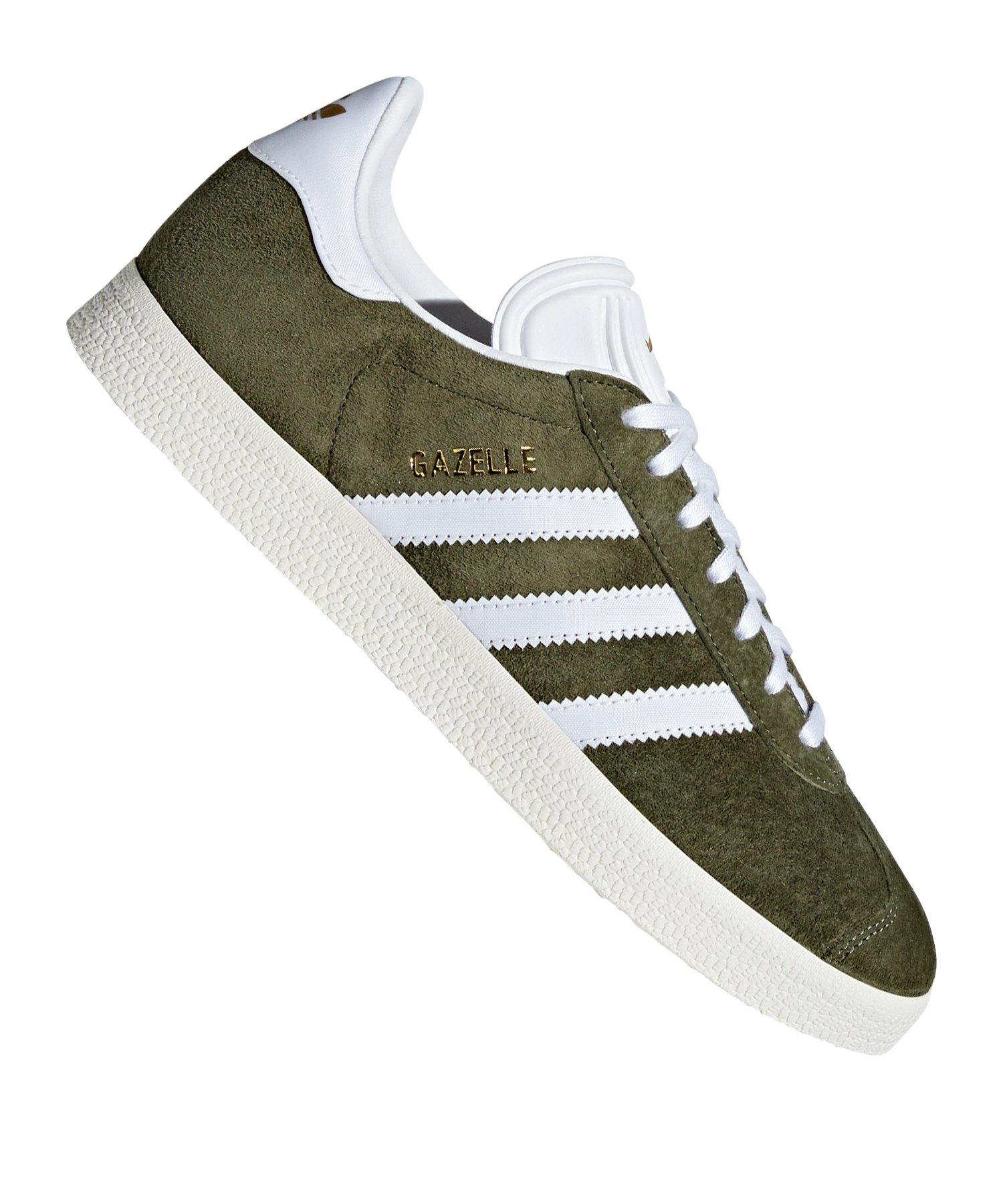 adidas Originals Gazelle Sneaker Damen Grün Weiss