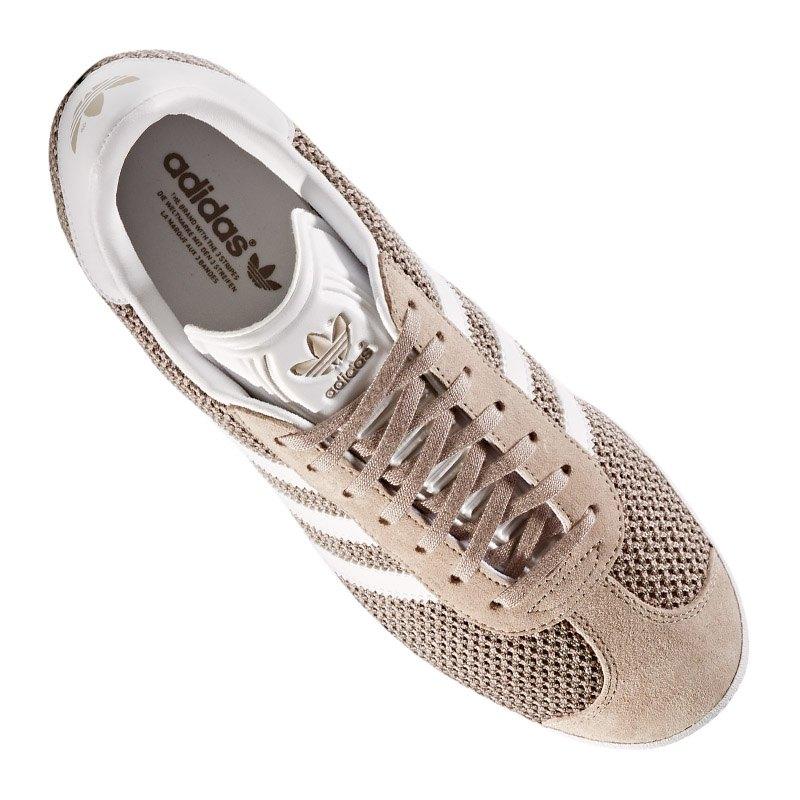 adidas originals gazelle sneaker damen grau weiss. Black Bedroom Furniture Sets. Home Design Ideas