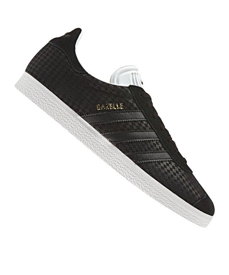 Adidas Gazelle Damen Originals Schwarz Sneaker vnwN8Om0