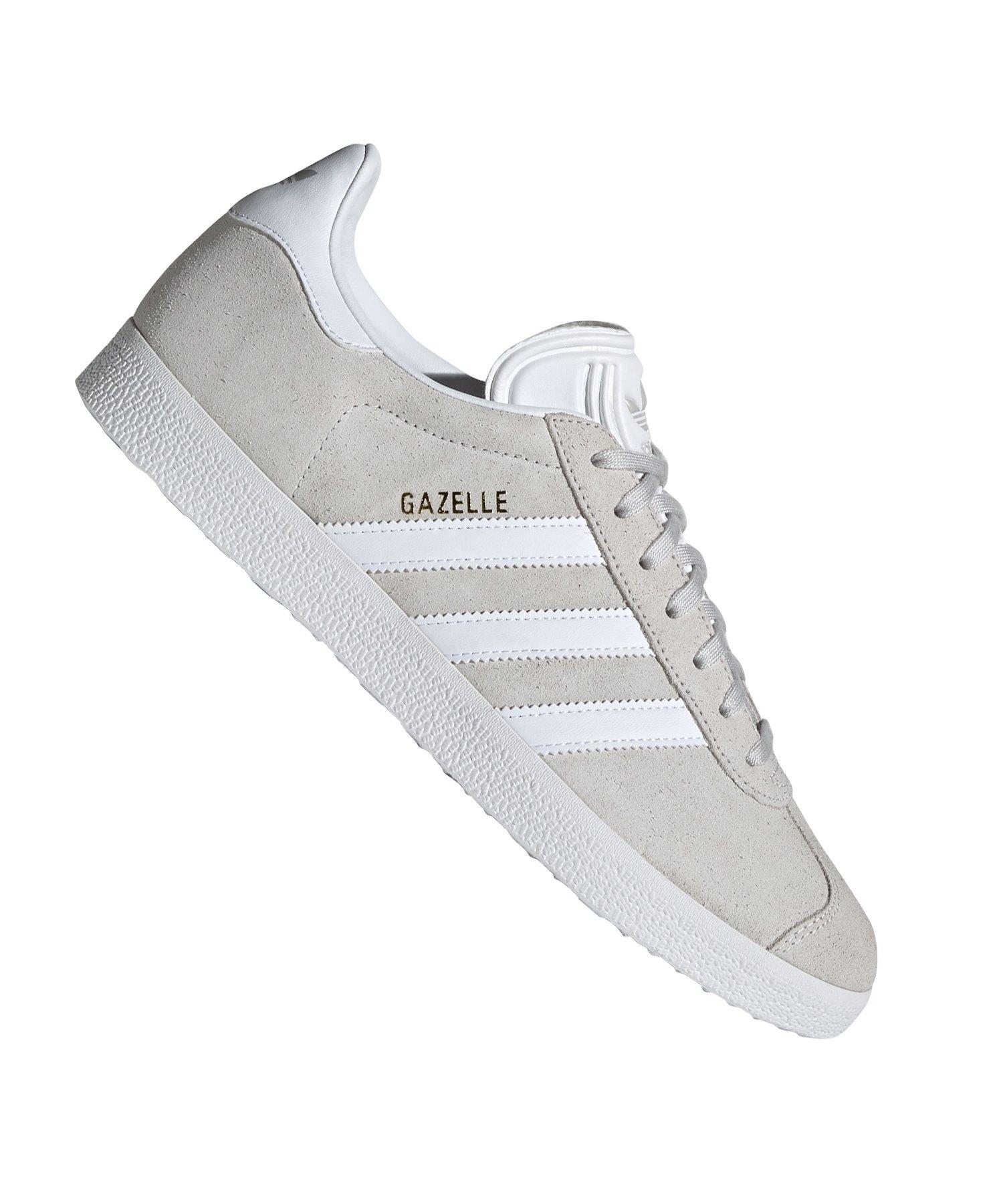 new product 807f6 17b33 adidas Originals Gazelle Sneaker Grau Weiss - Grau
