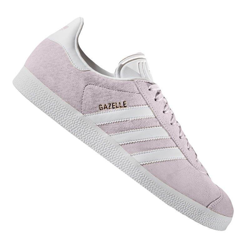 f133037d69ddf6 adidas Originals Gazelle Sneaker Damen Rosa Beige - rosa