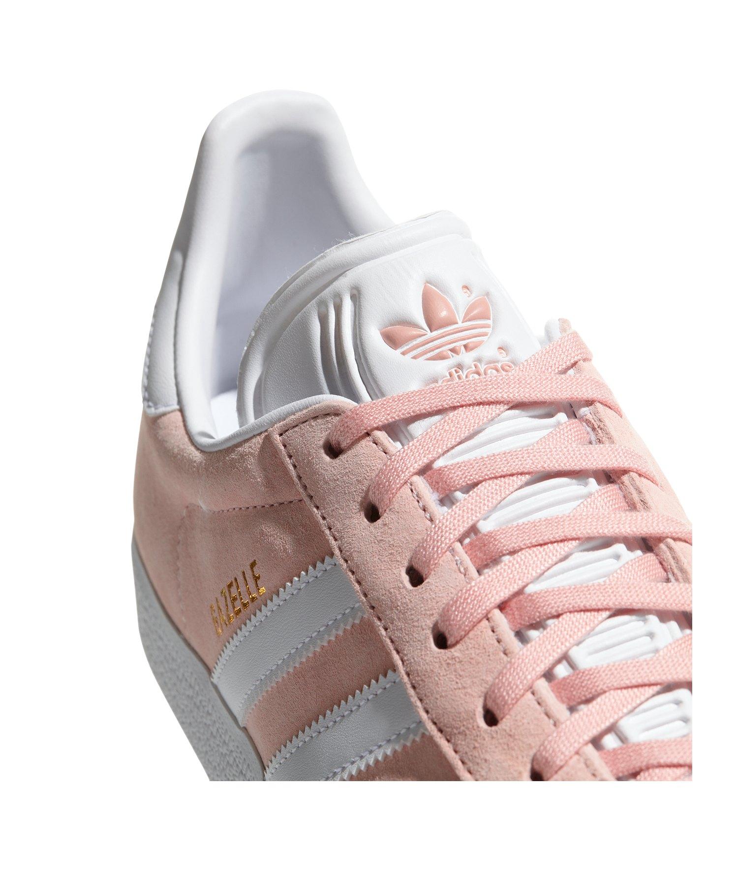 ba5791e606e8c8 ... adidas Originals Gazelle Sneaker Rosa Weiss - rosa ...