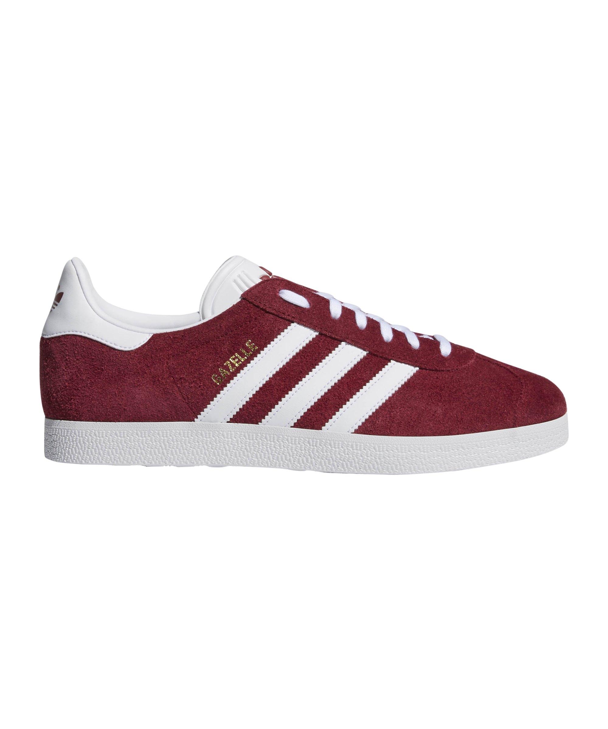 adidas Originals Gazelle Sneaker Rot Weiss