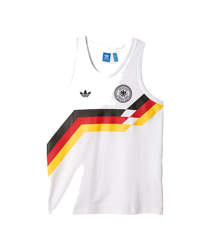 adidas Originals Germany Tanktop Weiss