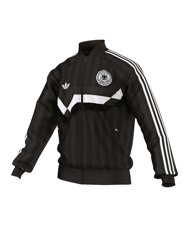 adidas Originals Germany Track Top Jacke Schwarz