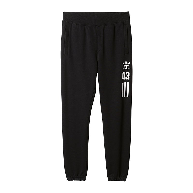adidas originals graphic sweatpant hose schwarz. Black Bedroom Furniture Sets. Home Design Ideas